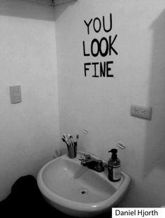 Mirrors. Who needs'em?