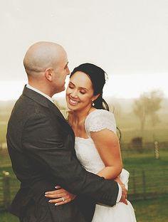 KAREN WILLIS HOLMES - Real Bride -  Wedding dress - Bethany