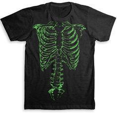 Spinal Tap - Nigel Tufnel Green Skeleton T Shirt - Tri-Blend Vintage Fashion - Graphic Tees for Men & Women. $24.99, via Etsy.