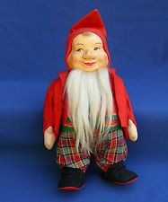 Old 11 Troll Nisse Ronnaug Petterssen elf gnome doll Norway VTG 1950s Nissefar