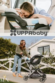 The UPPAbaby Mesa Infant Car Seat thinks ahead so you don't have to with multiple safety features, including an easy-to-grip carry handle with a stroller release bottom. It comes with 2 crotch buckle positions with a worry-free built-in-lock-off for secure seatbelt installation, providing an effective red-to-green tightness indicator. The harness buckles and UPF retractable canopy can both be tucked away, giving the Mesa a clean look! Uppababy Stroller, Baby Strollers, Retractable Canopy, Baby Gear, Baby Car Seats, Infant, Things To Come, Nursery, Children