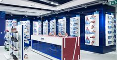 Sports Store | Retail Design | Shop Interior | Sports Display | ASICS flagship store at Oxford street, London