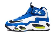 291a5476085b Nike Griffey Max 1 Royal White Black Volt Mens Sneaker Boots