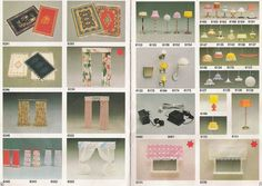 Lundby 1984: p 16-17 Dollhouse Furniture, Barbie Furniture, Brio, Dollhouse Dolls, Diy Crafts, Doll Houses, Holiday Decor, Denmark, Interior