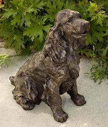 Artist: Rosemary Cook;  Sculpture: Bonnie, Spaniel
