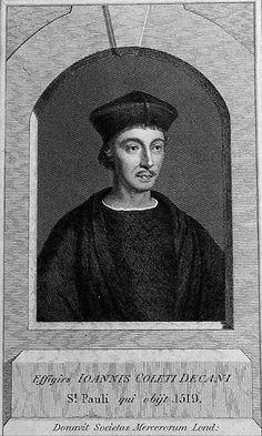 John Colet, Dean of St. Paul's (1467-1519)