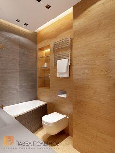 Фото: Дизайн ванной комнаты - Квартира в современном стиле