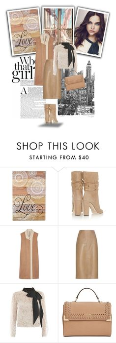"""""""Xenia"""" by dragonflylt ❤ liked on Polyvore featuring Concepts in Time, Jimmy Choo, Tome, By Malene Birger, Victor Xenia, Calvin Klein and Savant"""