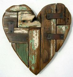 Teds Woodworking® - Woodworking Plans & Projects With Videos - Custom Carpentry madera Barn Wood Crafts, Barn Wood Projects, Reclaimed Wood Projects, Driftwood Crafts, Garden Projects, Scrap Metal Art, Woodworking Projects Plans, Teds Woodworking, Custom Woodworking
