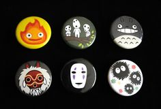 Hey, I found this really awesome Etsy listing at https://www.etsy.com/listing/97188281/studio-ghibli-6-button-set