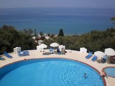 Agios Gordios Villa For Sale South Corfu. This amazing property is situated in a natural, tranquil environment where green meets the endless blue of the sea, in one of the most beautiful areas of Agios Gordios, Floors, Greece, Bathrooms, Tiles, Outdoor Decor, Beautiful, Home Decor, Home Tiles