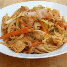 Chicken Yakisoba - Allrecipes.com