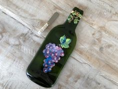Light Blue Green Wine Bottle Molded Serving Tray Spoon Rest Cork Recycled Eco-Friendly Melted Wine Bottle Foodie gift Wine gift under 25 Melted Wine Bottles, Empty Bottles, Light Blue Green, Recycling Bins, Wine Gifts, One Light, Tray, Foodie, Spoon Rest