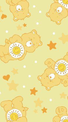 Retro Wallpaper Iphone, Mood Wallpaper, Bear Wallpaper, Cute Disney Wallpaper, Aesthetic Pastel Wallpaper, Kawaii Wallpaper, Wallpaper Pictures, Cute Cartoon Wallpapers, Pretty Wallpapers