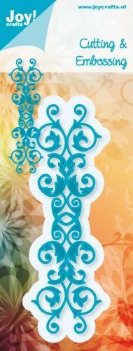 6002/0302 Noor! Design Cutting & Embossing stencil 1 st.