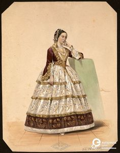 'Belgique et Costumes. Bal du Duc de Brabant : Souvenirs d'un bal costumé donné par S.A.R. le Duc de Brabant le 20 avril 1857', Jules Géruzet, 1857. Courtesy Royal Library of Belgium, all rights reserved.