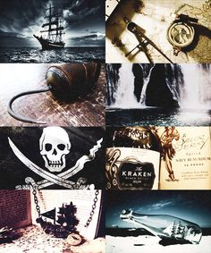 OUAT moodboards: Captain Hook