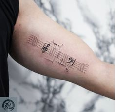 super clean fine line illustration music design on the inner bicep Tattoo Shops Toronto, Tattoo Flash Art, Fine Line Tattoos, Music Tattoos, Line Illustration, Tattoos Gallery, Super Clean, First Tattoo, Tattoo Studio