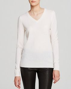 C by Bloomingdale's V Neck Cashmere Sweater | Bloomingdale's