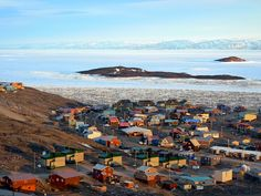 Iqaluit, capital of Nunavut, Canada Ontario, Quebec, Beautiful Sites, Beautiful Places, All About Canada, Northern Canada, Columbia, Canada Eh, Canadian Travel