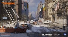 ArtStation - The Division, David Österlind