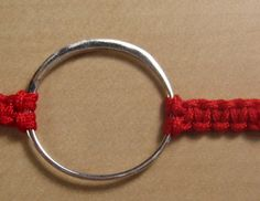 Close Up Red with Ring