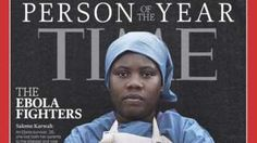 Image copyright                  Time Magazine              Image caption                                      Salome Karwah is survived by her husband and four children                                Liberian nurse Salome Karwah was one of those named as Time...