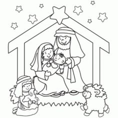 collect-christmas-coloring-pages-nativity-scene-coloring-pages-for-kids.jpg (520×520)