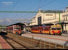 Net Photo: 236 Hungarian State Railways (MÁV) 117 / Bzmot at Békéscsaba, Hungary by Hungary, Trains, Train