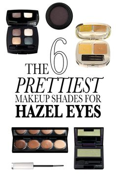 The 6 Prettiest Makeup Shades for Hazel Eyes: While the origins of hazel eyes are still a mystery to geneticists, the best colors to make them look amazing are not a secret. Here, our top six looks to Hazel Eye Makeup, Eye Makeup Tips, Eyeshadow Makeup, Beauty Makeup, Makeup Ideas, Beauty Tips, Beauty Ideas, Makeup Stuff, Diy Makeup