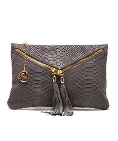 Look at this #zulilyfind! Roberta M: Grigio Selin Leather Bag by Roberta Minelli #zulilyfinds