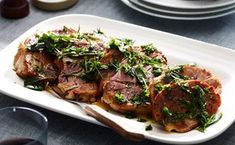 Three-Day, Twice-Cooked Pork Roast with Fried-Herb Salsa Verde