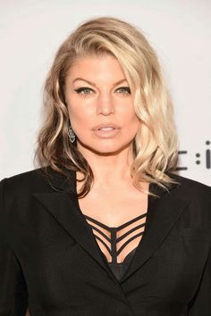 Fergie-love this hairstyle