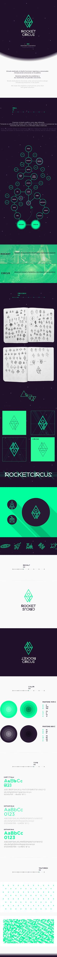 ROCKETCIRCUS by ROCKETCIRCUS MX, via Behance