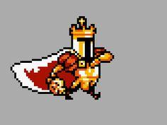 Shovel knight - like a King Knight
