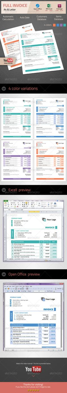 Invoice Invoice template, Stationery and Business - advertising proposal template