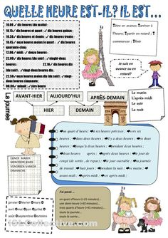 Fashion and Lifestyle French Flashcards, French Worksheets, French Teacher, Teaching French, High School French, French For Beginners, French Education, French Grammar, French Classroom