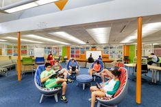 top 140 school sector architecture firms, 2019 bd+c giants 300 report, Hilliard Innovative Learning Hub 2 Oz Architecture, School Architecture, Hilliard Ohio, Rancho Mirage, Technology Design, Building Design, Retail Design, Urban Design