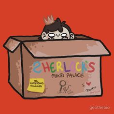 """Sherlock's Mind Palace"" T-Shirt"