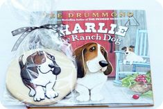 ree drummonds charlie the ranch dog book and how to make cookies to match