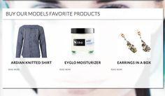 eyGLÓ our models favorite product! Via Shortlist-ID, November 2012 (The Netherlands) ♥ Sóley Organics