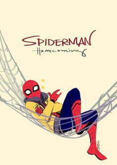 Homem aranha de volta à rede
