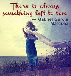 Gabriel Garcia Marquez quote on love