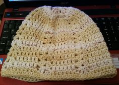 Bananas and Cream beanie