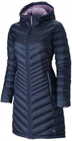 Mountain Hardwear Nitrous Hooded Down Parka Jacket Womens