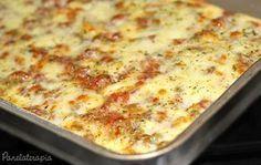 PANELATERAPIA - Blog de Culinária, Gastronomia e Receitas: Torta Salgada com Massa de Arroz