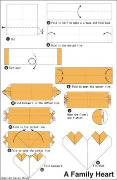 valentine origami by Okhin