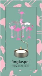 Pluto Produkter Flamingo Rotary Candle Holder