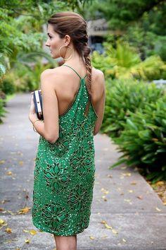 azita66: Green sequined