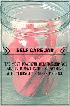 Self Care Jar                                                                                                                                                      More